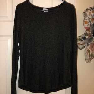 Old Navy grey sweater